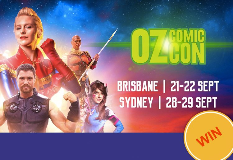 A review for The BEST Oz Comic-Con Giveaway – The Ultimate Family Day Out