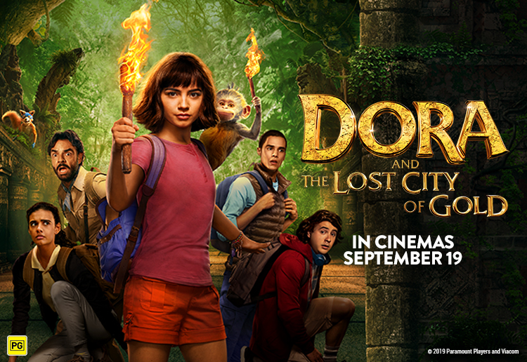 mom423802 reviewed WIN 5 x Family Passes To See DORA AND THE LOST CITY OF GOLD