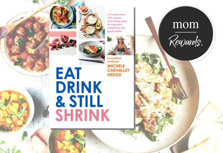 WIN 1 of 20 Copies of Eat, Drink & Still Shrink