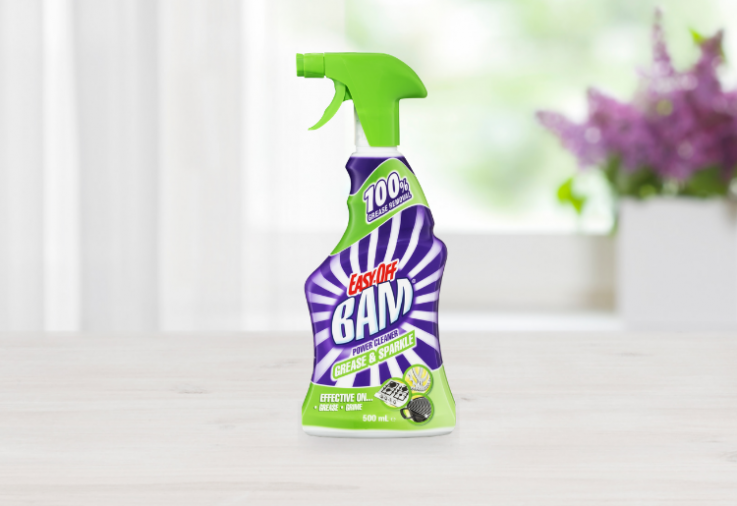 Image of Easy-Off Bam Kitchen Grease Cleaner Review