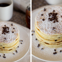 Chocolate Chip Pancake Recipe