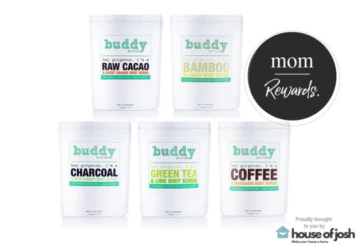 5 different types of Buddy Body scrub
