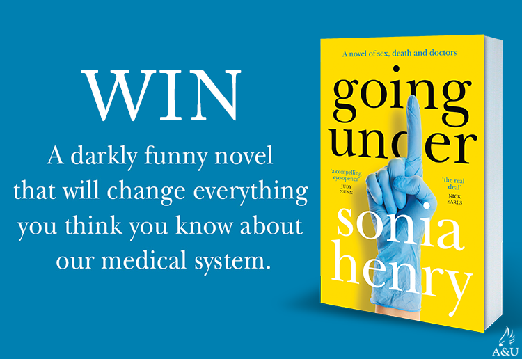 WIN 1 Of 20 Copies Of Going Under by Sonia Henry