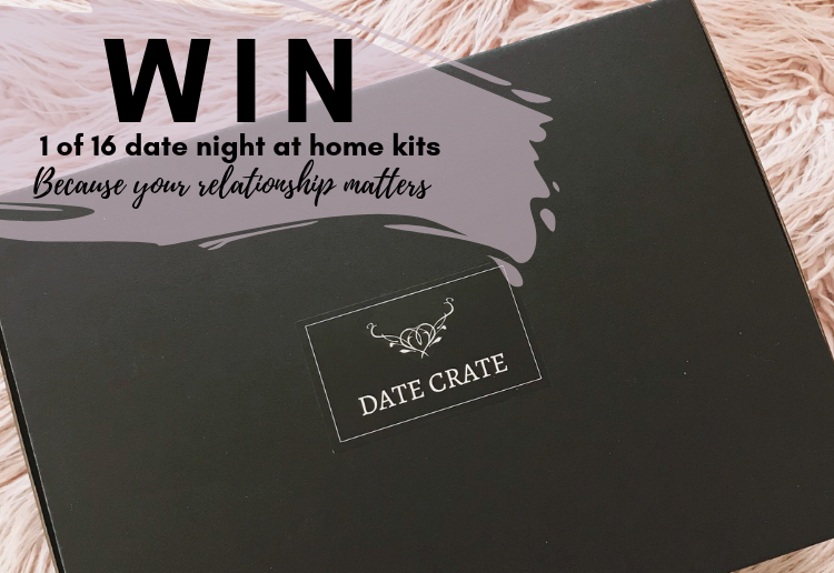 Date Crate logo - at home date night kit