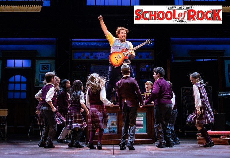 WIN A Family Pass To The SCHOOL OF ROCK Musical!