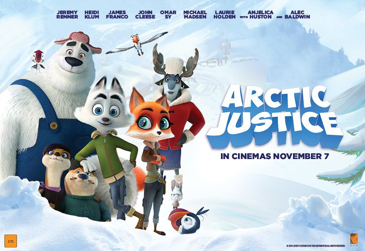 Win 1 of 5 Family Passes To See ARCTIC JUSTICE!