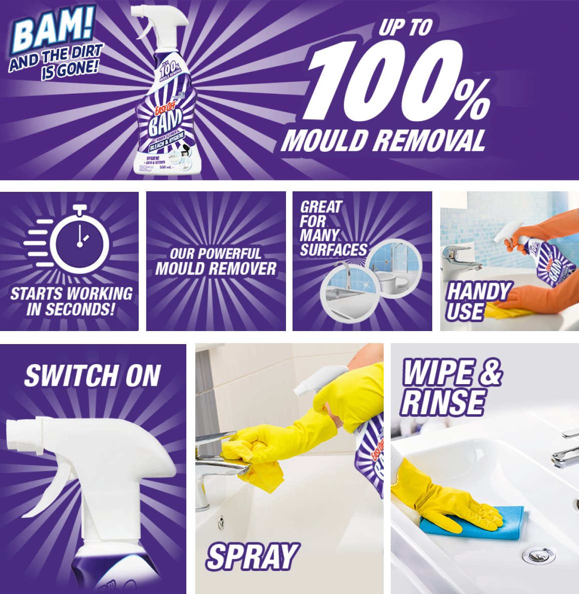 Infographic_Easy-Off Bam Bleach Power Cleaner for the Easy-Off Bam Bleach Power Cleaner Review