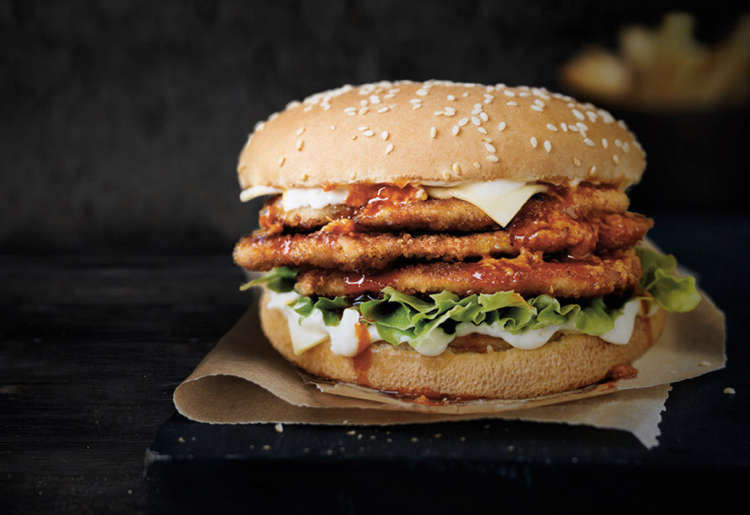 Oporto Is Giving Away FREE Burgers To Fight Against Bland Lunches