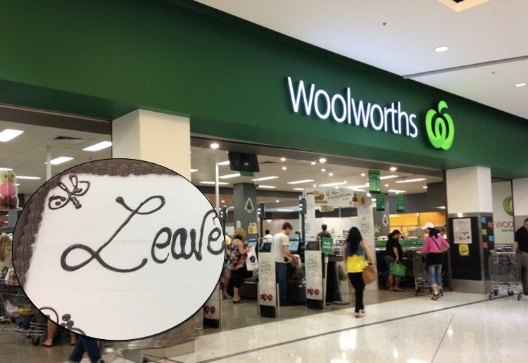 We Love This Hilarious Woolworths Cake Fail