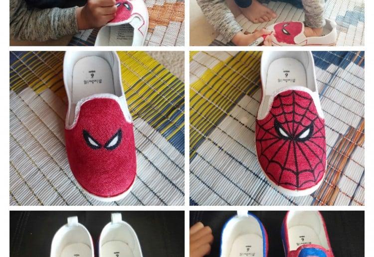 Canvas Shoe Art