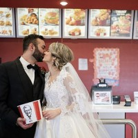 Now You Can Have A KFC Themed Wedding