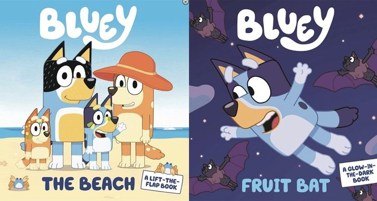 Bluey Books now available for pre-order
