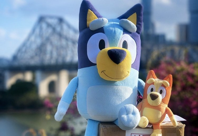 youngoldlady reviewed Bluey Plush Toys And Other Merchandise Available Before Christmas