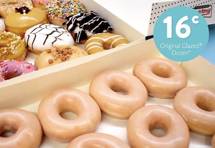 Dozen Doughnuts For 16 Cents Special IS Now On Offer For Everyone