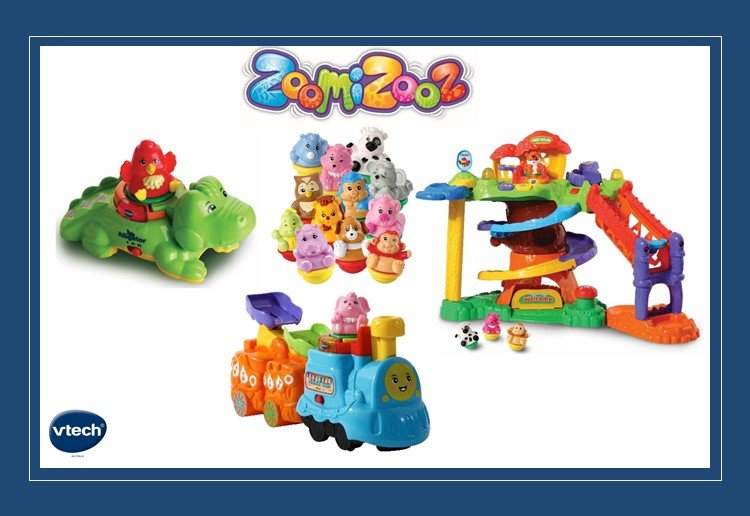 WIN 1 Of 4 VTech ZoomiZooz Sets!