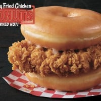 KFC Is Testing Out A Chicken And Doughnuts Burger
