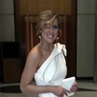 TV Reporter Fiona Willan's Hilarious Wardrobe Fail At Midwinter Ball