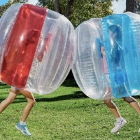 Popular ALDI Inflatable Bubble Ball Is One Big Giant Balls-Up