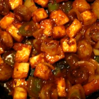 Paneer Chilli with Vegetables