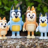 A Sneak Peek At The New Bluey Figurines