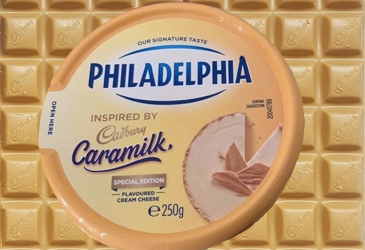 There Is Now Such A Thing As Philadelphia Caramilk Cream Cheese!