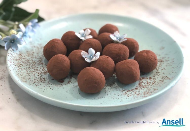 Chocolate Truffles with Nutella