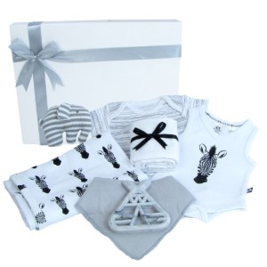 baby gift pack with onsie blanket and more