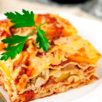 Chicken Lasagne with Pumpkin