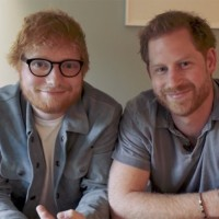 Prince Harry and Ed Sheeran's Funny Video For World Mental Health Day