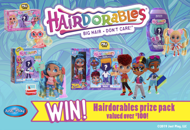 A picture of the latest toy craze hairdorables