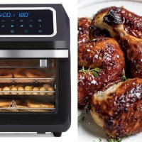 New 3-In-1 Air Fryer Oven Is Yet Another Gadget We're Going Crazy Over