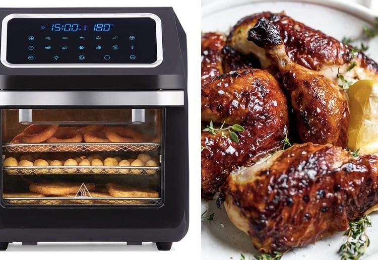 3-in-1 kitchen-appliance air fryer oven