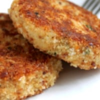 Salmon Patties with Potato