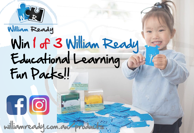 WIN 1 Of 3 William Ready Educational Fun Packs!