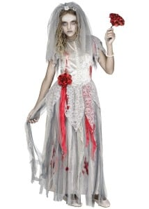 Zombie bride costume - Halloween outfits