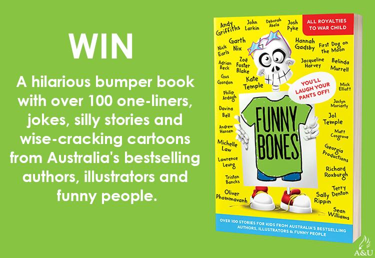 WIN 1 Of 40 Copies Of The Book Funny Bones!