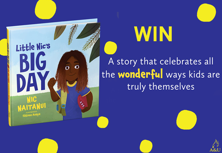 WIN 1 Of 25 Copies Of The Book Little Nic's Big Day
