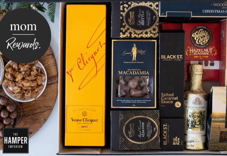 WIN 1 Of 2 Christmas Foodies With Veuve Hampers From The Hamper Emporium