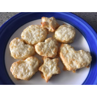 Butterless cheese biscuits