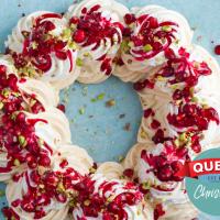Pavlova Christmas Berry Wreath