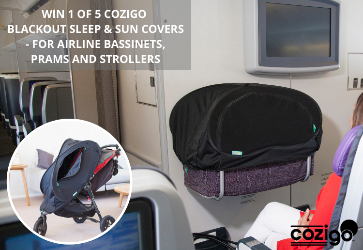 Mr&Mrs reviewed WIN 1 of 5 CoziGo Blackout Sleep And Sun Covers