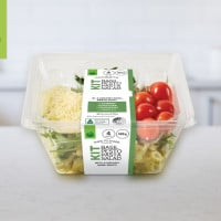 woolworths basil pesto pasta salad kit product review pack on bench