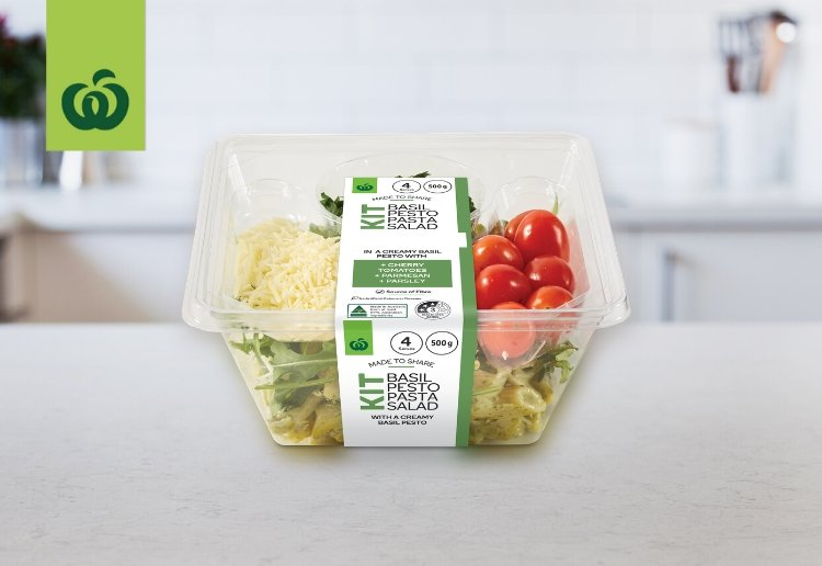snazzy007 reviewed Woolworths Basil Pesto Pasta Salad Kit