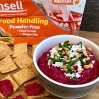 Egyptian Roasted Beetroot Dip
