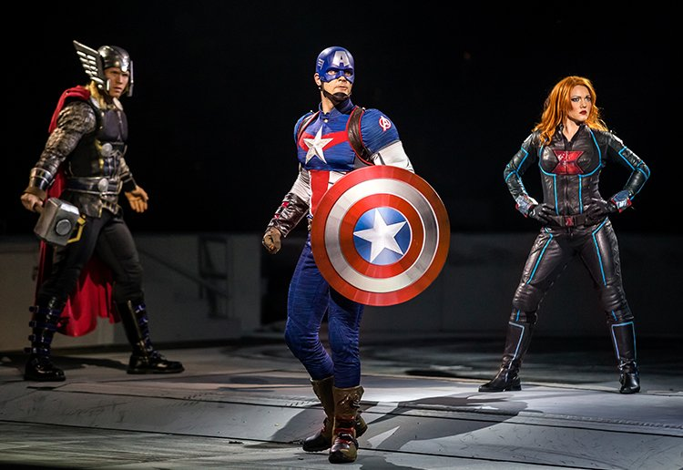 WIN 1 of 2 Family Passes To Marvel Universe LIVE!