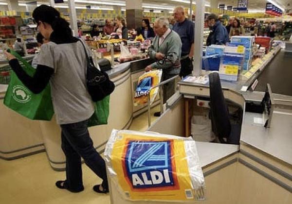 Aldi checkout