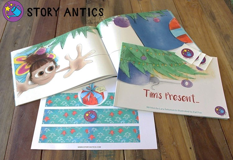 WIN 1 of 13 Story Antics book vouchers (valued at $39.99)!