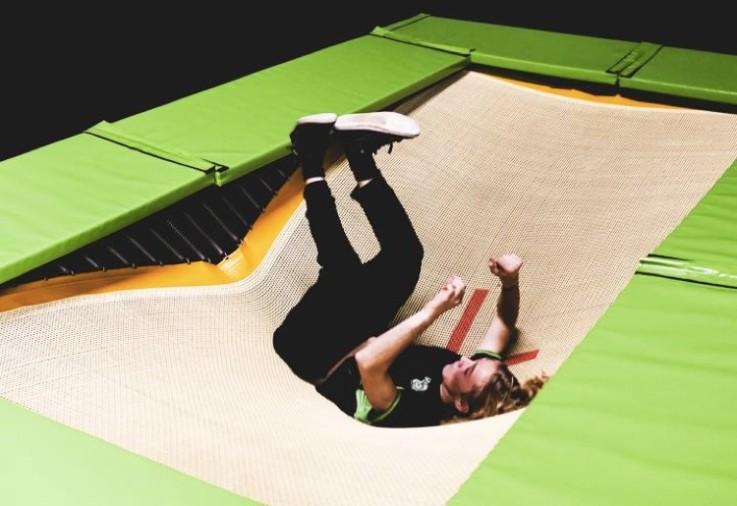 are flip out trampoline parks dangerous