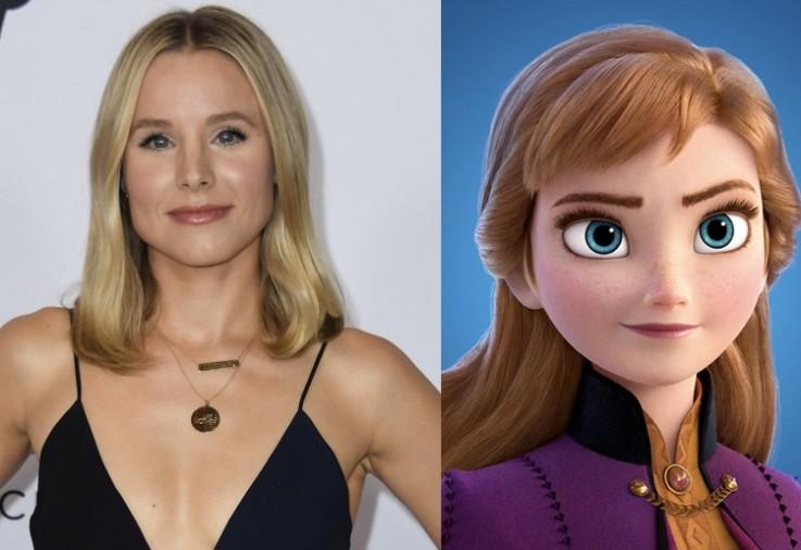 Kristen Bell Frozen 2 voices Anna