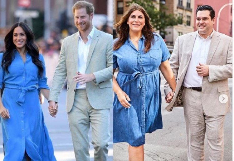 Plus-Size Blogger Body Shamed For Dressing Like Meghan Markle